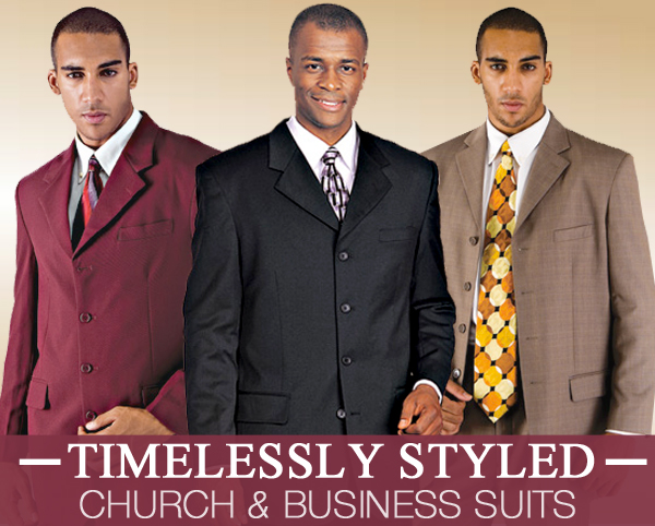 Mens Church And Business Suits 2018