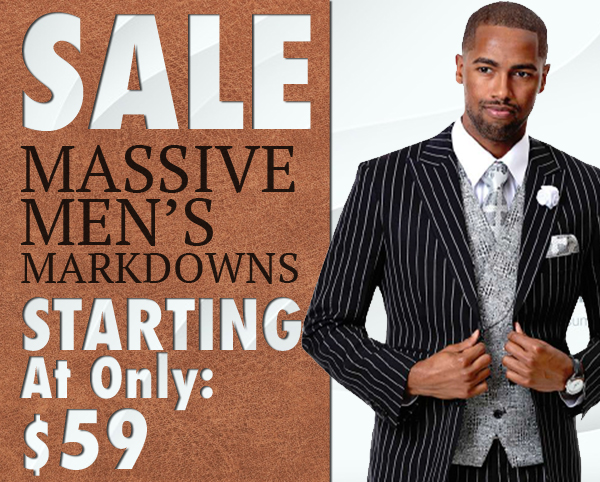 Mens Designer Suit Sale