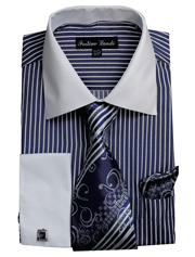 FL631-NA ( Matching Tie, Cuff Link And Hanky Included )
