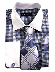 FL632-NA ( Matching Tie, Cuff Link And Hanky Included )