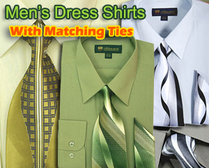 Mens Dress Shirts With Matching Tie Vol 1 2018