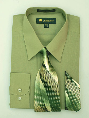 SG-21Mocha-G ( Matching Tie And Hanky Included )