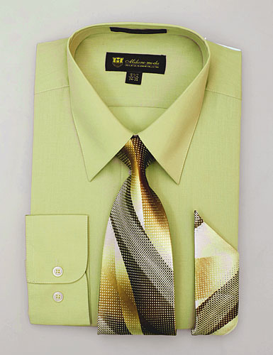 SG-21Tan-G ( Matching Tie And Hanky Included )
