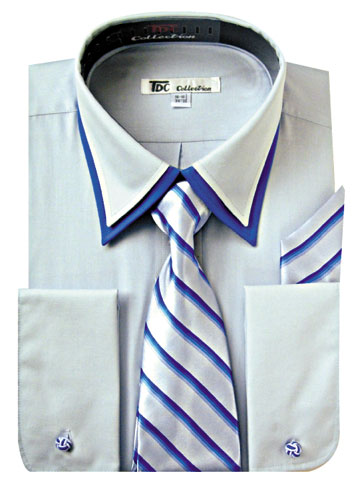 SG-14SB-G ( Matching Tie, Cuff Link And Hanky Included )