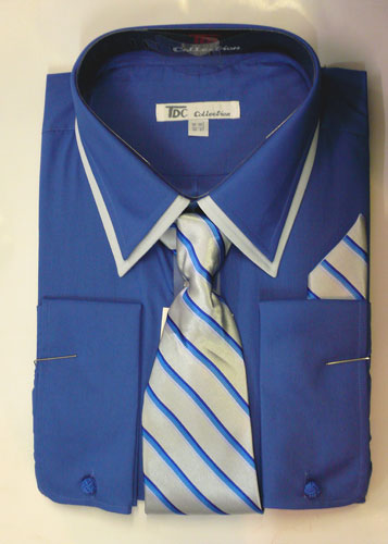 SG14FB-G ( Matching Tie, Cuff Link And Hanky Included )