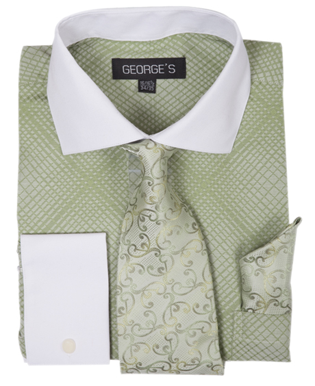 AH624-AP ( Matching Tie And Hanky Included )
