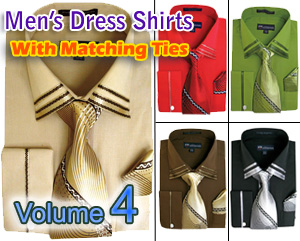 Mens Dress Shirts With Matching Tie 2018 Volume 4