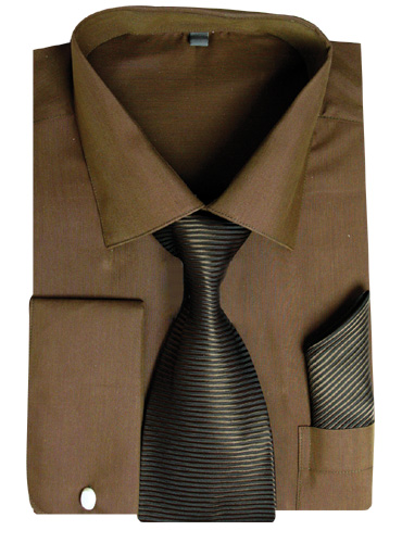 SG27BR ( Matching Tie, Cuff Link And Hanky Included )