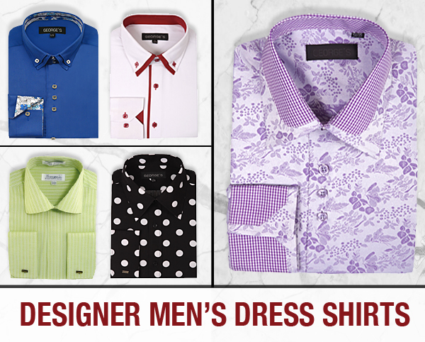 Designer Dress Shirts With Ties Complete Collection 2021