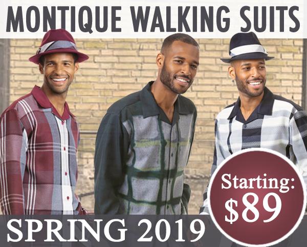 Montique Mens Walking Suits 2019