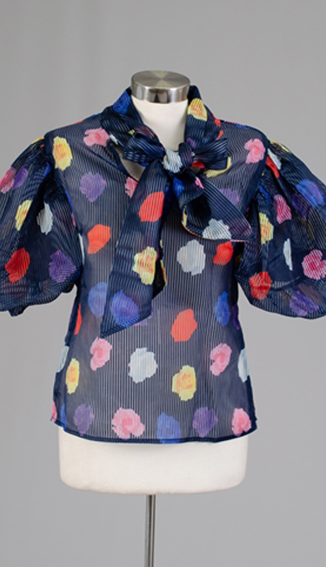 N By Nancy Collection 132837-NA ( 1pc Flower Print Top )
