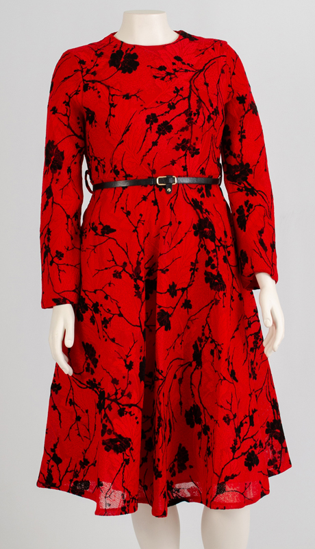 N By Nancy Collection A1979-RB ( 1pc Brocade Dress )