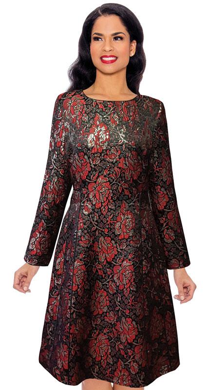 Giovanna D1519-RM ( 1pc Brocade Dress )