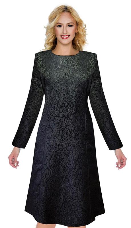 Giovanna D1519-BK ( 1pc Brocade Dress )