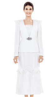 Nina Massini 2492 ( 3pc Renova Church Suit )