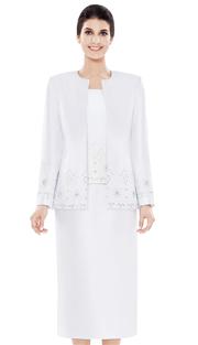 Nina Massini 2485 ( 3pc Silk Women's Suit )