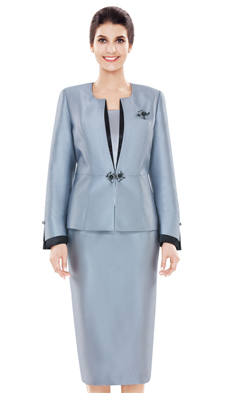 Nina Massini 2477 ( 3pc Novelty Women's Church Suit )
