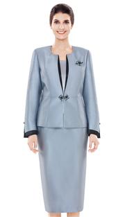 Nina Massini 2477 ( 3pc Novelty Women's Church Suit )