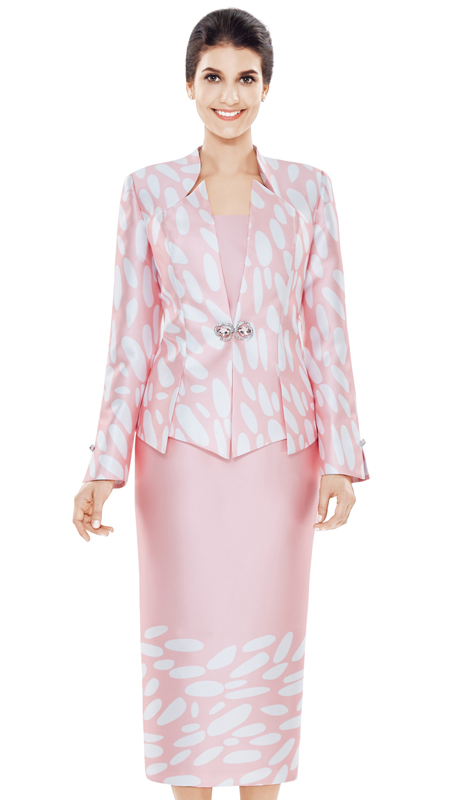 Nina Massini 2501 ( 3pc Novelty Women's Suit )