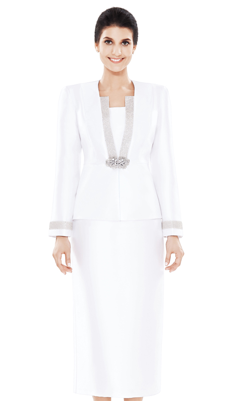 Nina Massini 2486 ( 3pc Silk First Lady Church Suit )