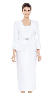 Nina Massini 2489 ( 3pc Silk Suit For Church )