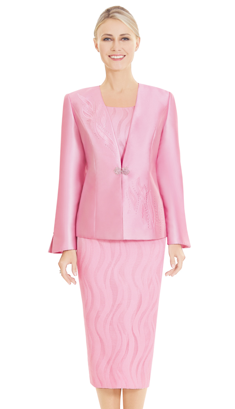 Nina Massini 2568 ( 3pc Silk First Lady Suit )