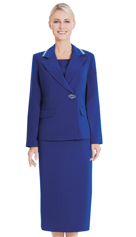 Nina Massini 2554 ( 3pc Renova Ladies Church Suit )