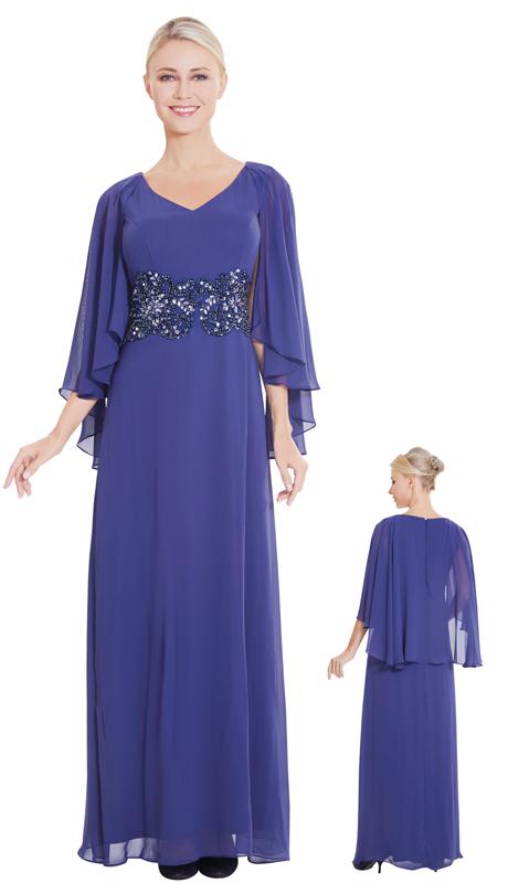 Nina Nischelle 2862-MB ( 1pc Chiffon Gown )