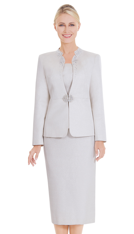 Nina Massini 2578-SA ( 3pc Novelty Ladies Church Suit )