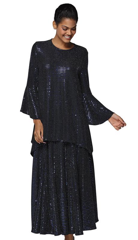 Nina Massini 3033 ( 2pc Novelty Church Dress )