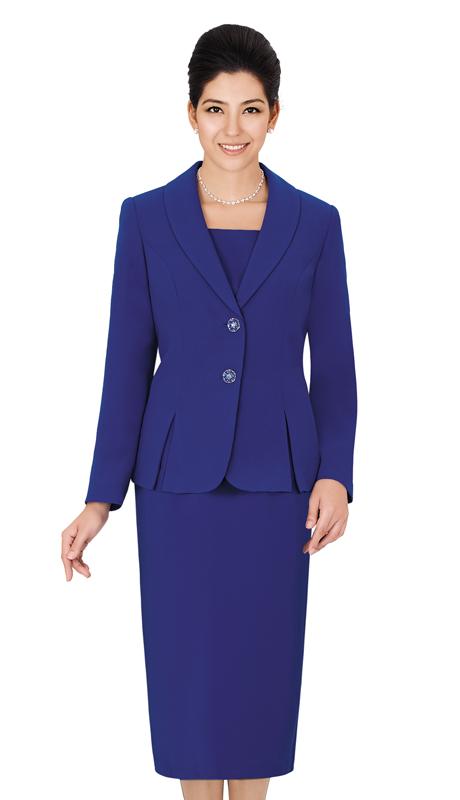 Nina Massini 1366S-RO ( 3pc PeachSkin First Ladies Suit )