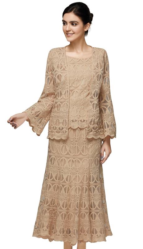 Nina Massini 2565 ( 3pc Lace Sunday Suit )