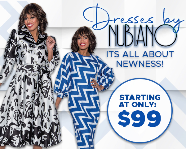 Brand New Elegant Church Dresses By Nubiano Spring And Summer 2019