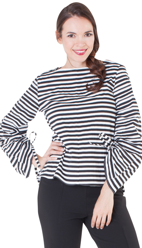 NYC Concepts 8576-BW ( 1pc Top With Flexible Sleeves )