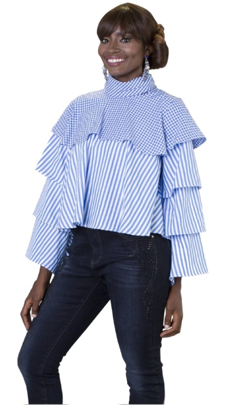 For Her 8619 ( 1pc  Tiered Top )