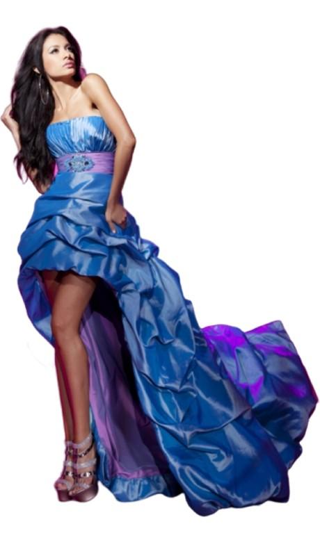 Le Gala Prom 112556 ( 1pc Ruch Taf Hi Lo )