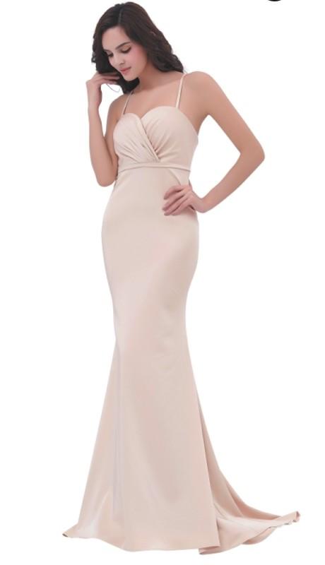 Jadore Prom J11307 ( 1pc Crepe Gown W/Chiffon )