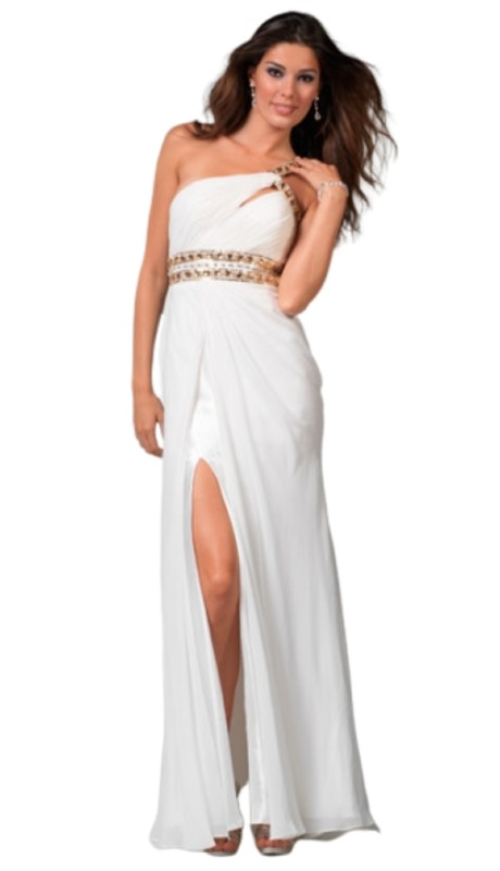 Clarisse Prom 1501 ( 1pc One Shoulder Stones )