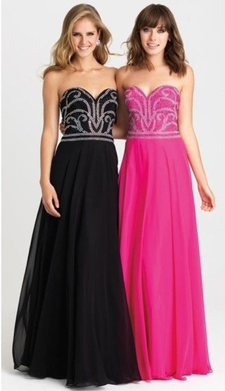Madison James Prom 16332 ( 1pc Bead Chif Strpls )