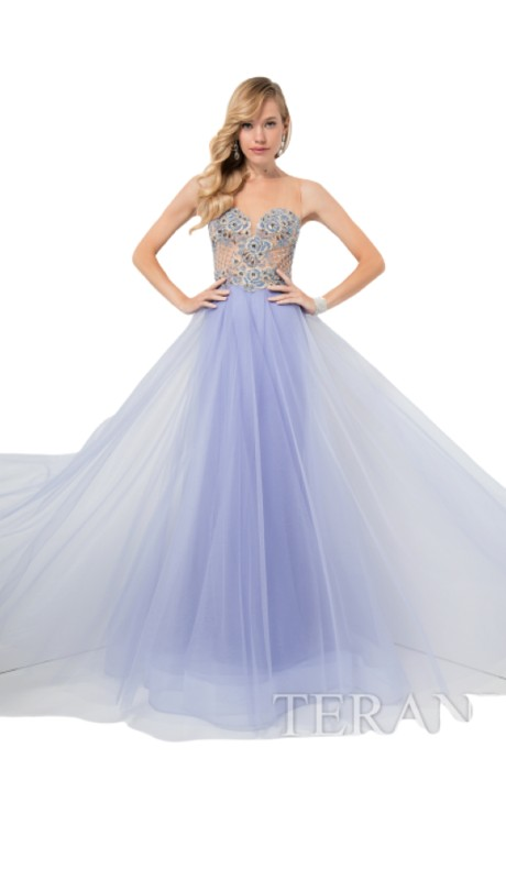 Terani Prom 1712P2456 ( 2pc Glitter Illus Bg )