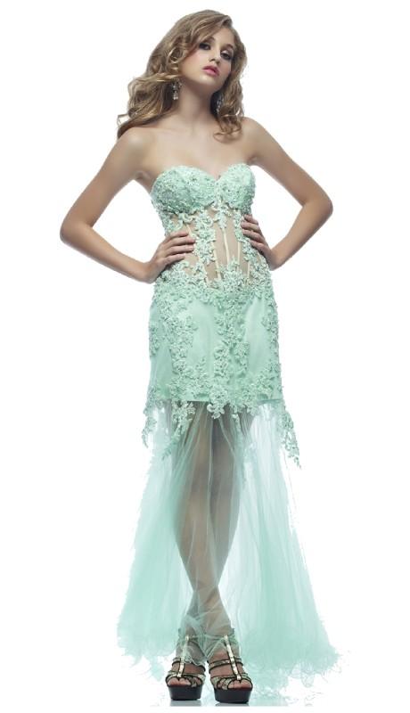 Riva Prom 7431 ( 1pc Lace Corsett Illus )