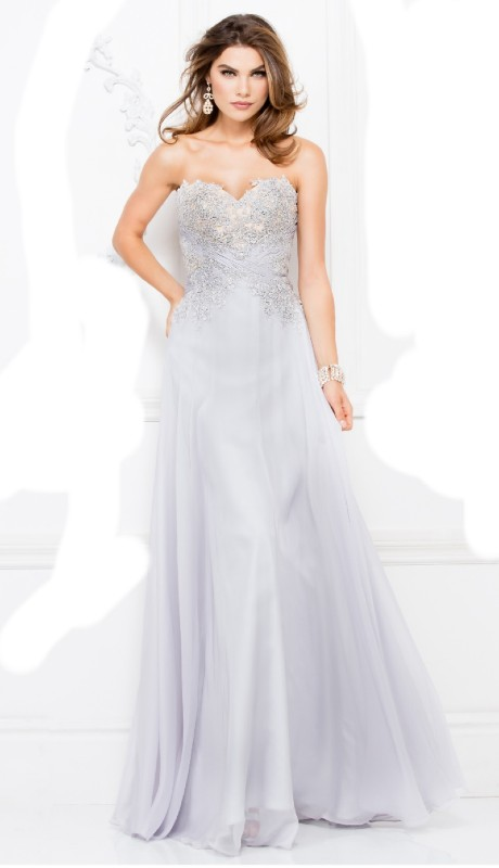 Lucci Lu Prom 8012 ( 1pc Beaded Strpls )