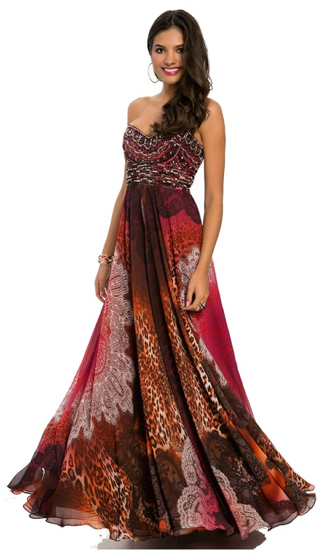 Jovani Prom 92824 ( 1pc Mix Media Beaded Chiffon )