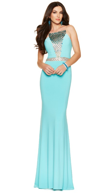 Paparazzi Prom 98106 ( 1pc  Jewel Ombre Jersey )