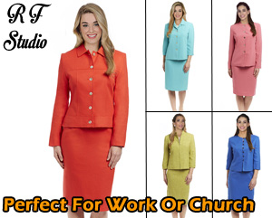 RF Studio Ladies Church And Career Suits Spring And Summer 2019
