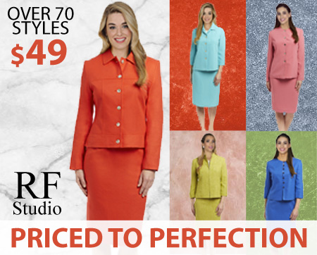 RF Studio Ladies Church And Career Suits Fall And Holiday 2018