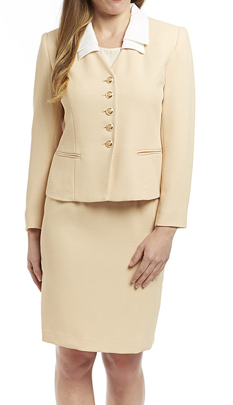 RF Studio 50502 ( 2pc Renova Career Suit In Petite Jacket And Skirt )