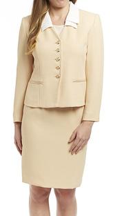 RF Studio 50502 ( 2pc Renova Career Suit In Petite Jacket And Skirt )