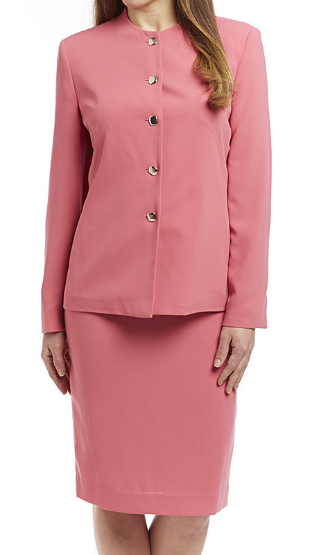 RF Studio 90512 ( 2pc Renova Ladies Church And Career Suit Jacket And RF Studio Skirt )