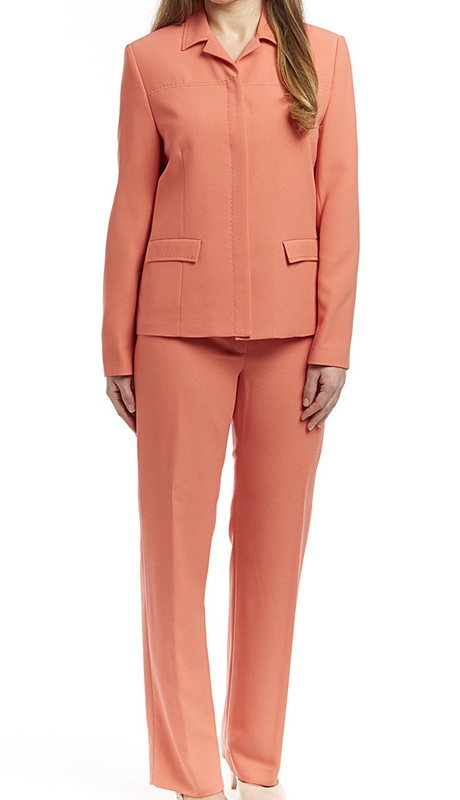 RF Studio 90620-COR ( 2pc Renova Ladies Career Suit With Jacket And Pant )